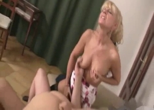 MILF watches her hubby fuck their daughter