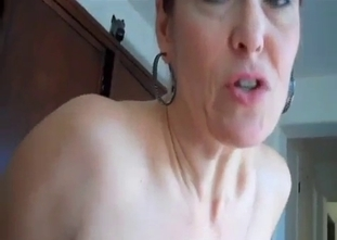 Flabby pussy mommy riding her son's cock